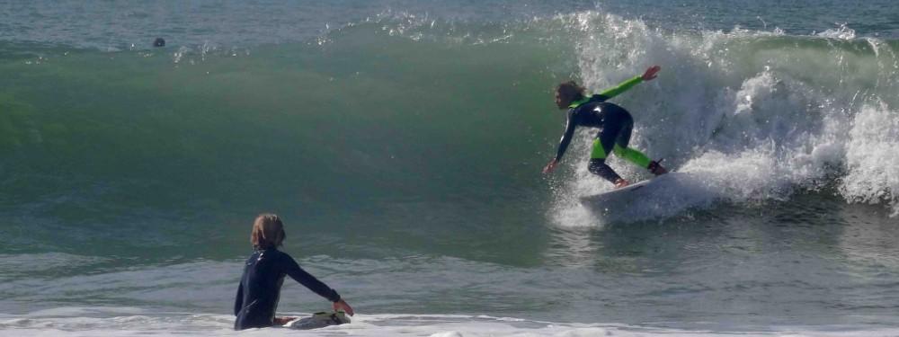 groupes de niveaux cours de surf