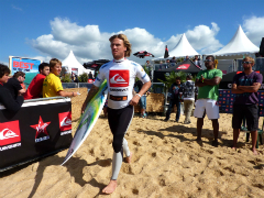 surf camp Quiksilver pro France