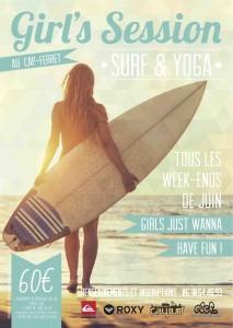 Surf & yoga au Cap Ferret