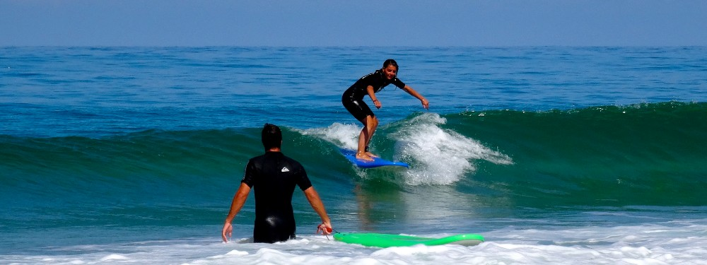 stage de surf au cap ferret